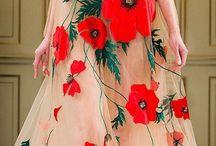 Haute Couture floral / Dresses