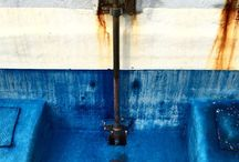 The Time Jobs. Abstract photography. Rust & Saline. Natural colors.