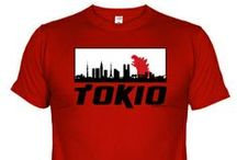 Camisetas y bolsos geniales!!! / Camisetas y bandoleras superoriginales y a excelente precio! con ilustraciones chulas!