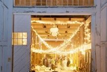 Barn Weddings Decorations / Great decor ideas including lighting and decorations  to give your wedding charm.