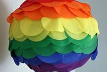 Rainbow Party - Decorations