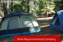 Camping | Cub Scouts / Cub Scouts love to camp!  Find lots of camping ideas, tips and advice for camping with those Cub Scouts!