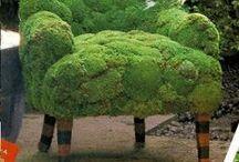 Groen Groen Groen Tuin-Idee's