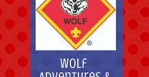 Wolf | Cub Scouts / Fun ideas and suggestions for Wolf Cub Scouts.