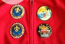 Patches and Badges | Cub Scouts / Need a place to display all of those Cub Scout patches and badges?  This board has some suggestions.