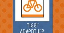 Rolling Tigers:  Tiger Adventure | Cub Scouts / The Tiger elective adventure, Rolling Tigers, helps Cub Scouts learn about their bicycles, safety gear, and how to keep safe and have fun while riding.