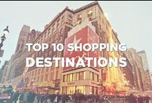 Top 10 Shopping Destinations / Do you want to choose your next travel destination, taking in consideration the best shopping places around the world?  Here's a list of ten shopping cities you should visit!