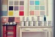 Autentico Chalk Paint / Desde Málaga, España. Muebles pintados por el mundo con Autentico #chalkpaint.  From Málaga, Spain. Painted furniture all over the world using Autentico Chalk Paints.