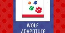Paws on the Path:  Wolf Adventure | Cub Scouts / Wolf Cub Scouts start to learn hiking skill in the Paws on the Path required adventure.