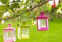 Mini Hurricane Lanterns /  Mini Hurricane Lanterns will look lovely to any kinds of events!
