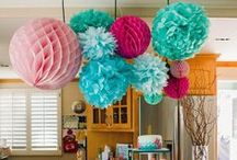 Kid's Birthday Party Ideas / Kids and children's party decor ideas that you can do. Happy birthday party planning and enjoy!