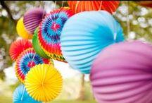 Accordion Paper Lanterns / Decorations, parties, events, back drops, paper lanterns.