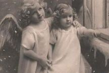 Vintage - engelen - angels - angelitos / by Tormenta Maine Coons