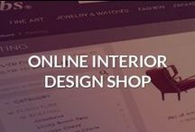 Online Interior Design Shop / A curated selection of #furniture, #lighting, #jewelry and other #accessories carefully chosen from the best online stores all over the internet.