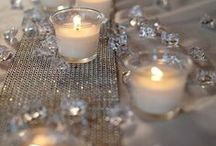 Table Decorations / Table runners, table numbers, candleholders and more.