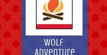 Council Fire:  Wolf Adventure | Cub Scouts / Tips and tricks for the Wolf Cub Scout required adventure, Council Fire.