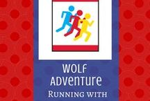 Running With the Pack:  Wolf Adventure | Cub Scouts / When your Wolf Cub Scouts start their Running With The Pack adventure, you can find cool activities for them here!
