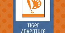 Stories in Shapes:  Tiger Adventure | Cub Scouts / Requirements, ideas and suggestions for the Tiger Cub Scout adventure, Stories in Shapes.