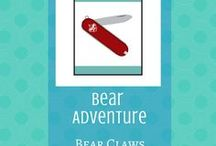 Bear Claws:  Bear Adventure | Cub Scouts / The Bear Claws adventure allows our Bear Cub Scouts to learn how to safely use a pocketknife.  The Bears earn their Whittling Chip as part of this adventure.