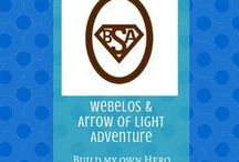 Build My Own Hero:  Webelos/Arrow of Light Adventure | Cub Scouts / Ideas and tips for completing the Webelos and Arrow of Light adventure, Build My Own Hero/