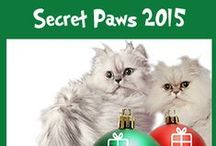 Secret Paws / Fun holiday activities for cat bloggers.  A chance to get to know other cats (and their humans) from around the world.