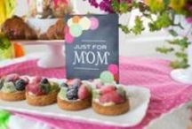 Mother's Day / Mother's Day Party Decoration Ideas and Supplies
