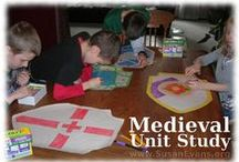 Medieval Unit Study / Fun hands-on activities for a Medieval Unit Study for homeschoolers or teachers.   #homeschooling #medieval-unit-study #middle-ages-unit-study