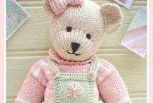 CANDY Bear / CANDY Bear PDF Knitting Pattern ...