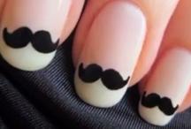 Mustache NAILs - By Nina Maria