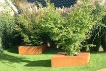 Tuin met cortenstaal / Prachtige tuin met cortenstaal - Esselink Hoveniers