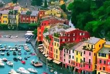 Travel:  Colourful Houses