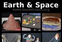 Earth and Space Unit Study / A fun unit study about the structure of the Earth, rocks and minerals, the weather, and outer space. #Earth  #handsonscience #BrightIdeasPress