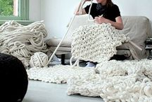 Wool and Yarn ideas / Inspiratie....