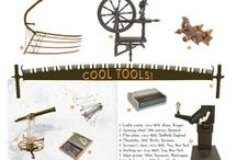 """Cool Tools! / Artifacts from and inspiration for the """"Cool Tools!"""" exhibition in Philomath, Oregon, USA"""