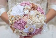 My brooch bouquets / Wedding brooch bouquets