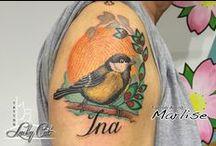 Arm / hand / Diverse tatoeages welke op de arm of hand zijn geplaatst door tatoeagestudio Lucky Cat Tattoo | 's-Hertogenbosch