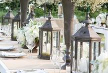 Table Decor / Flowers and table arrangements