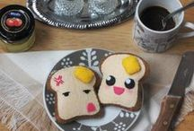 """My brooches on Etsy / Felt brooches made by me that I have for sale in my store """"My Cute Works"""" on Etsy"""