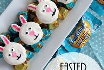 Easter with Butterfinger / Kick your next recipe up a notch with Butterfinger. This crispety, crunchety, peanut buttery treat is perfect in everything from cookies to brownies, cupcakes to pies, Halloween treats to holiday eats, and, well, you get the picture.