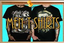 Mens Tshirts / Discover Cocky Fashion's Mens Tshirts Collection by Famous Designers From USA, Europe and Canada.