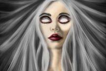 My Soulmate's Art ❤️❤️❤️ / Art done by my beautiful wife Tabatha