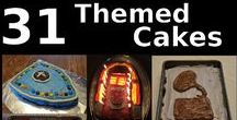 31 Days of Themed Cakes / Themed cakes with academic themes.