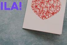 Fødselsdagskort, invitationer og gaveindpakning, bryllupskort