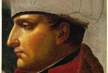 Napoleon / Zijn 18 maarschalken en zijn tegenstanders, o.a. tsaar Alexander 1, generaal Blucher en de Oostenrijkse keizer Frans 1 enz.