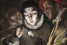 Greek artist=EL GRECO Δομηνικος Θεοτοκοπουλος (Domenico Theotocopoulos Greta 1541-Toledo 1614)