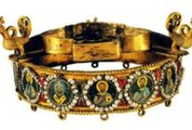 Greek art=BYZANTINE gold