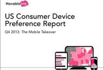 Insights - Consumer Device Report / Movable Ink's US Consumer Device Preference Report provides deep insight into the popularity of various devices, examines differences in consumer engagement based on the devices they use, and shows how device preferences vary across the nation. / by Movable Ink