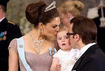 Victoria van Zweden & haar familie / kroonprinses Victoria en haar familie