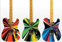 Guitars and string / Sometimes the nicest thing to do with a guitar is just look at it!