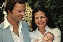 Koning Carl Gustaaf & koningin Silvia / Carl XVI Gustaaf en koningin Silvia en familie